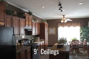 Manufactured Home 9 Foot Ceilings