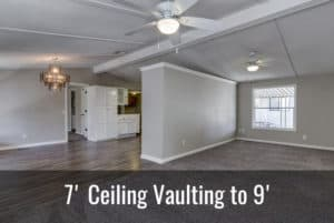 Mobile Home Ceiling Vault