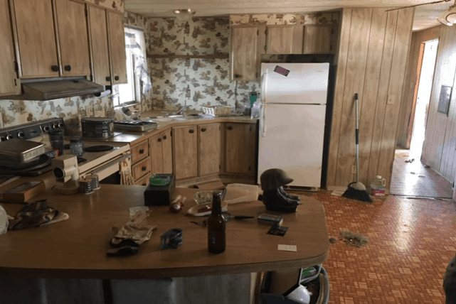 Kitchen At Time Of Purchase
